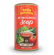 Daily Delicious Ripe Tomato & Brocoli Soup